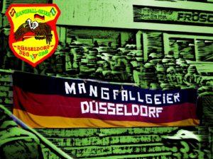 Mangfallgeier Düsseldorf Fahne