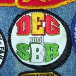 Aufnäher: DEG und SBR