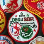 Aufnäher: Treue DEG + SBR Freundschaft